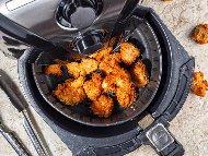 Панирани пилешки хапки с корнфлейкс без мазнина в еър фрайър / фритюрник с горещ въздух